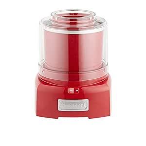 Cuisinart ICE-21RA Ice Cream Maker, Red