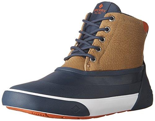 Sperry Heren Cutwater Dek Boot Tan / Navy