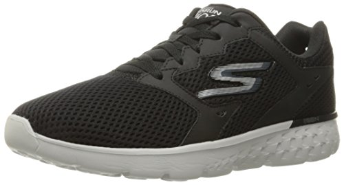 Skechers Performance Men's Go Run 400 Running Shoe Black/Gray for sale online free shipping in China clearance cheap online outlet 2014 unisex clearance shopping online iMiVdL9O1