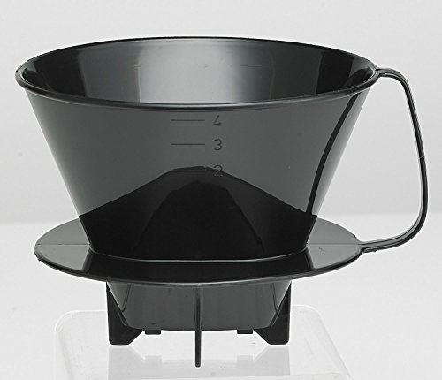 (HIC Harold Import Co. 2664 Coffee Filter Cone, No.4, Black)