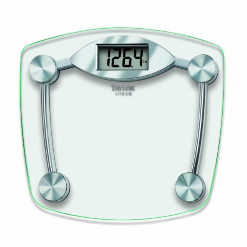 Taylor Glass and Chrome Digital Scale