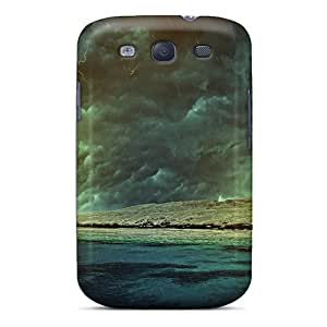 Durable Defender Case For Galaxy S3 Tpu Cover(sea Storm Hdr)