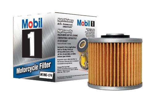 Mobil 1 M1MC-174 Black Motorcycle Oil Filter