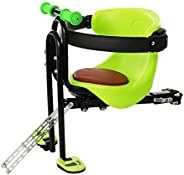 Child Seat for Bike Front Mount, Quick Dismounting Front Mount Baby Carrier/Baby Chair, Adjustable Front Safet