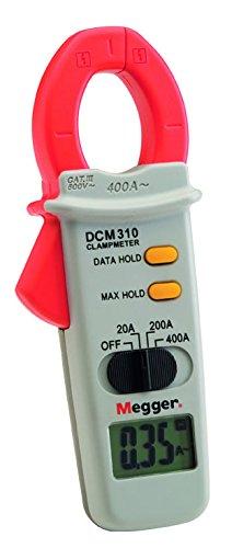 Megger 1000-303 DCM310 Stromzange, Strombereiche: 19 A, 199,9 A, 400 A