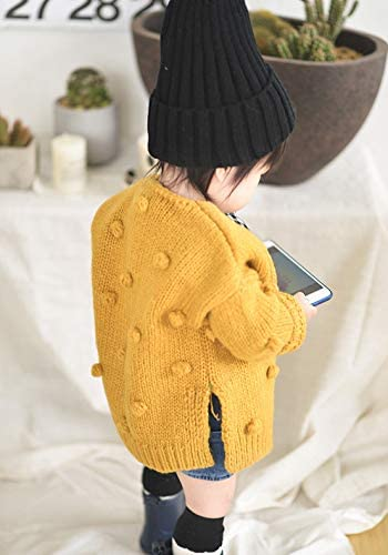 Harvest8 Toddler Kids Baby Girl Knit Sweater Cardigan Coat Coat Button Down Jacket Outerwear Autumn Winter Outfits