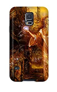 JIGRtTo5696kpZOT Rachel B Hester Witches And Goblins Durable For Case HTC One M8 Cover PC Flexible Soft Case