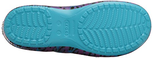 Crocs Kvinders Freesail Grafisk Træsko Multi / Leopard UETibWqY