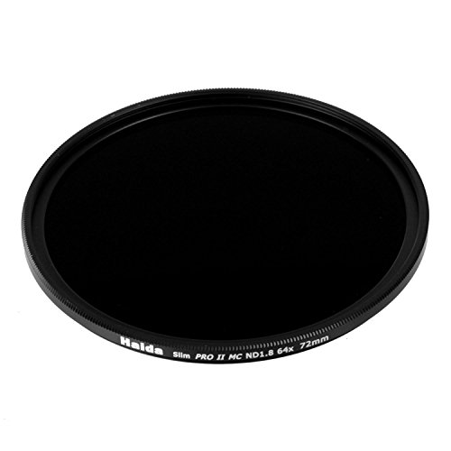 Haida 72mm Slim PROII Neutral Density Multi-Coated ND 1.8 64x Filter