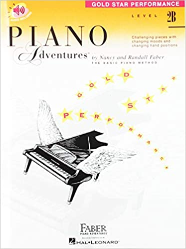Piano Adventures Gold Star Performance with Online Audio Level 2B