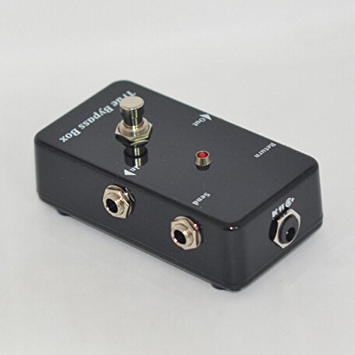 TTONE True Bypass Looper Pedal Guitar Super Loop Effects Looping Switcher Mini Switch Box Black by TTONE
