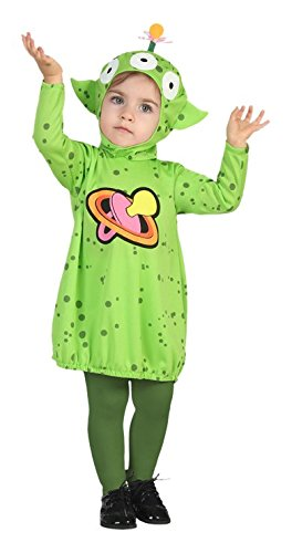Atosa 26356–Alien Spaceman Space Baby Costume -