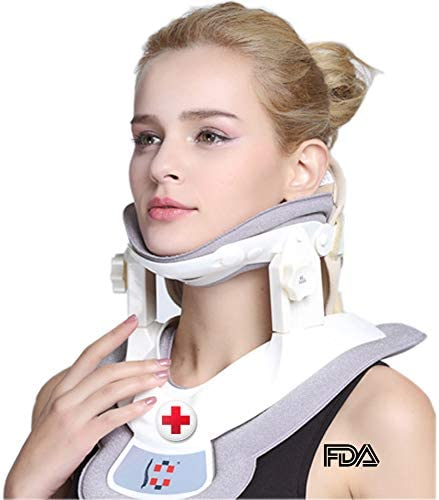 Cervical Neck Traction Device Stretcher