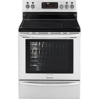 "Frigidaire Gallery FGIF3061NF 30"" Freestanding Induction Range with True Convection Induction Cooktop and Effortless Temperature Probe with Auto Keep Warm in Smudge Proof Stainless"