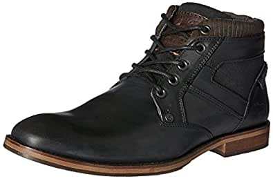 Wild Rhino Men's Medford Shoes, Black (Black), 7 US (40 EU) 6 AU