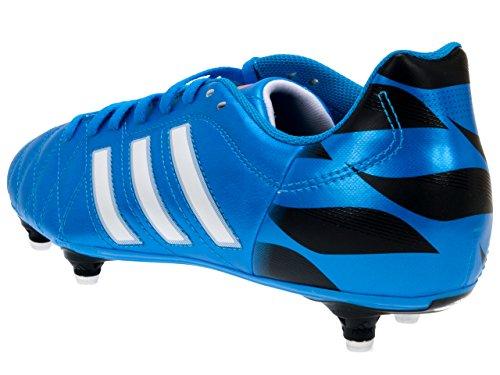 Adidas 11questra sg - Botas de fútbol con tacos - azul