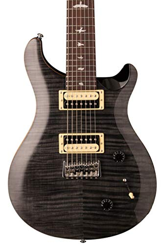 Paul Reed Smith Electric Guitar Strings - PRS Paul Reed Smith SE SVN 7-String Electric Guitar with Gig Bag, Gray Black