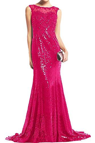 Etuikleider Pink Jugendweihe Lang Abendkleider Pink Pailletten Kleider La Cocktailkleider Damen Braut Marie xqnpPCa