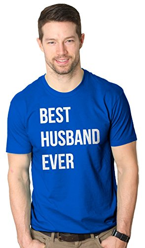 Best Husband Ever T Shirt Funny Wedding Married Man Tee Gift XL