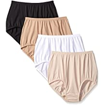 Warner's Women's Without a Stitch Brief (Pack Of 4)