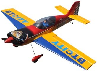 Amazon com: Skyangel Giles G-202 Aerobatic RC Airplane PNP