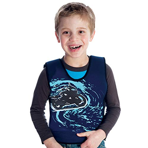 Fun and Function's Motorcycle Graphic Weighted Compression Vest - Helps With Mood & Attention, Sensory Over Responding, Sensory Seeking, Travel Issues