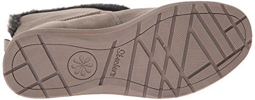 Skechers AdorbsPolar - zapato botín de piel mujer Dark Taupe