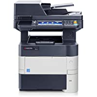 Kyocera 1102NM2US0 Model ECOSYS M3550idn ECOSYS Monochrome Multifunctional Laser Printer (Print, Copy, Color Scan and Fax), 52 PPM B&W, Print Resolution 600 x 600 DPI Up To Fine 1200 DPI, 1 GB Memory
