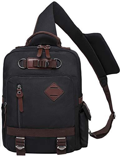 El-fmly Messenger Bag Travel Laptop Waterproof Casual Crossbody Backpack for Men Boy Shoulder Sling - Bag Pouch Sling Messenger Shoulder
