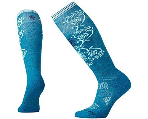 Smartwool Women's PhD Ski Light Pattern Socks Small