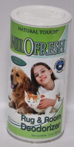 Nilofresh Rug and Room Deodorizer Spring Mint Scent 14 oz.