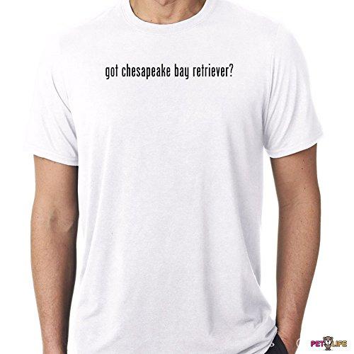 Mister Petlife Men's Got Chesapeake Bay Retriever Tee Shirt #2 chessie cbr 3XL White Got Chesapeake Bay Retriever