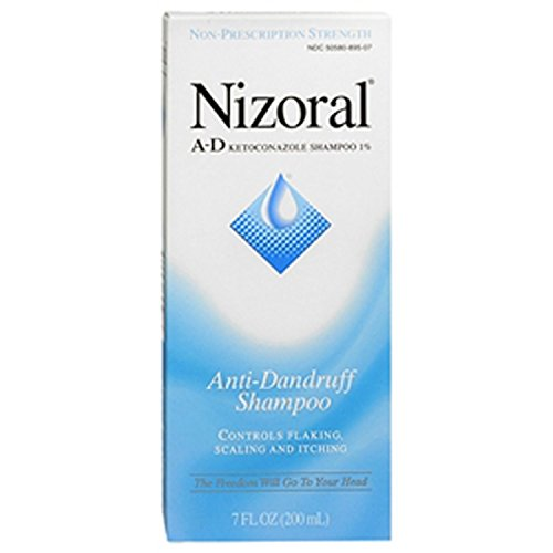 Nizoral A-D shampooing antipelliculaire, 7 oz