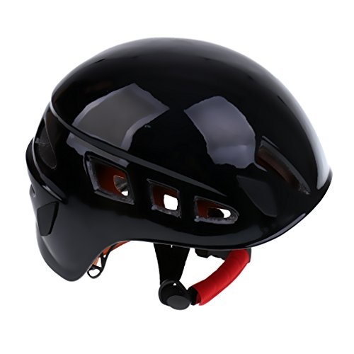 MonkeyJack Pro Safety Helmet Hard Hat Head Protect Gear for Outdoor Rock Climbing Arborist Abseiling Construction Aerial Work Rappelling Rescue Equipment Choice of Color