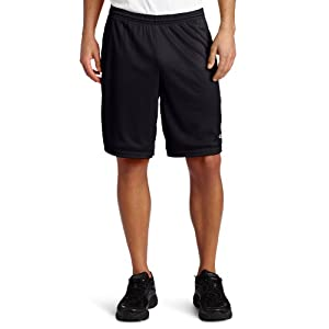 Champion Mesh Workout Shorts, XL, Black