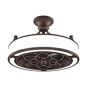 Anderson 22 In Indoor Outdoor Bronze Ceiling Fan With