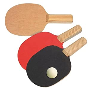Tischtennisschläger Bausatz Ping Pong Schläger f. Kinder Werkset Bastelset ab...