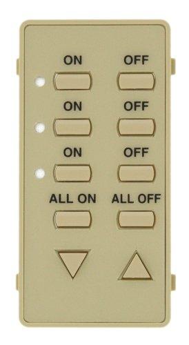 Leviton DCK4A-I Color Change Kit for 3 Address Decora Home Controls (DHC) Controller, - Controller Dhc Controls Decora Home