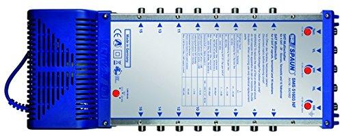 Spaun SMS 51603 NF SAT Multi-Switch 5 in 16, 842482 (SAT Multi-Switch 5 in 16) ()