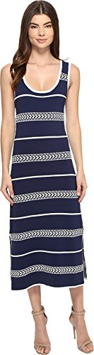 Midnight Tank Dress (Laundry by Shelli Segal Women's Midi Tank Sweater Dress Midnight Dress)
