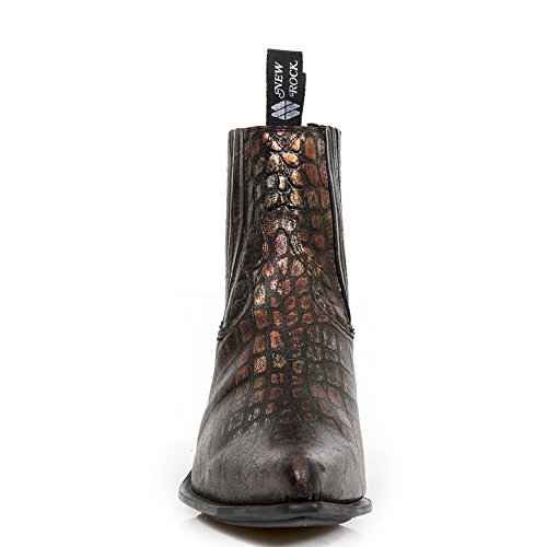 New Rock  New Rock,  Herren Biker Boots Mehrfarbig