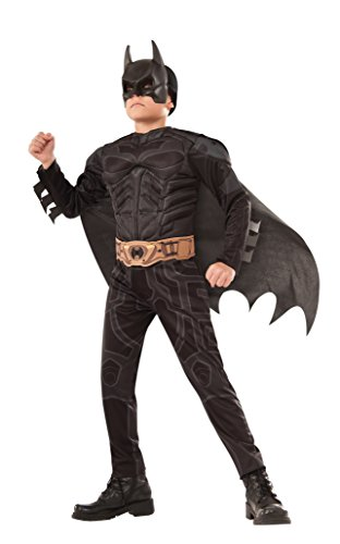 (Rubie's 640653_M Dark Knight Rises Batman Muscle Chest Costume, Black,)