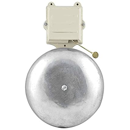 NAVKAR Electric Gong Bell 12 inches