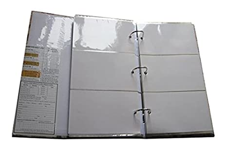 Photo Albums Pioneer Classic 3 Ring Photo Album with Burgundy Cover, Holds 504 Photos, 3 per Page STC-504/BR