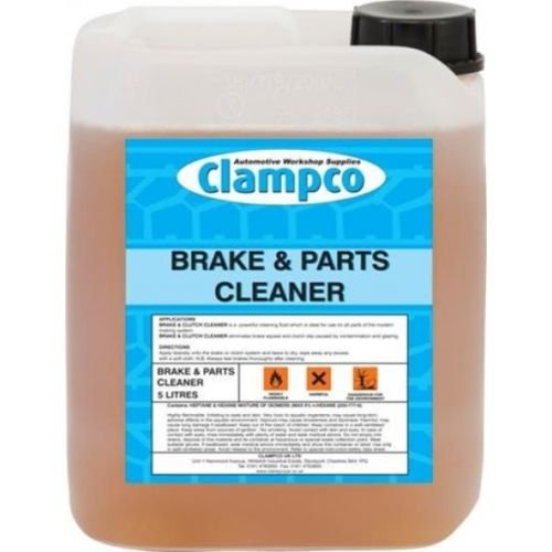 BR606 BRAKE PARTS & CLUTCH CLEANER DEGREASER FLUID 5 LITRE CLAMPCO