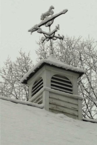 - Journal Rooftop Weathervane Winter Scene: (Notebook, Diary, Blank Book) (Seasonal Winter Photo Journals Notebooks Diaries)