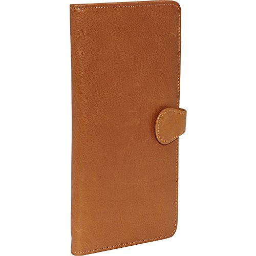 Tan Leather Travel Wallet (Clava Leather Tab Travel Wallet (Tuscan Tan))