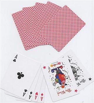 52 Blatt Poker Black Jack Karten Deck Casino Qualität