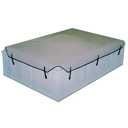 (Prestige 200 Square Gray Soft Spa Cover - 75 x 75 up to 84 x 84 Inches)
