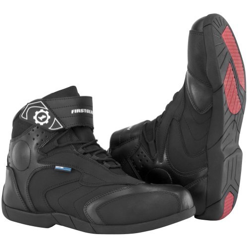 Firstgear Street Bike - FirstGear Kili Lo Men's Riding Street Racing Motorcycle Boots - Black / Size 8